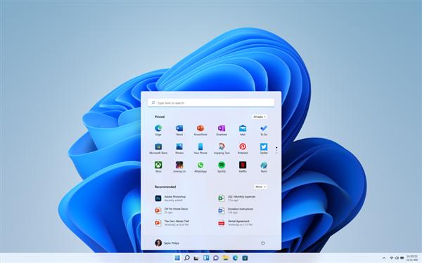 微软正式推出Windows 11系统!七大变化详解