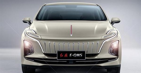 """""""毒液""""前脸吸睛!红旗繁荣工厂首台E-QM5白车身下线 刀片电池"""