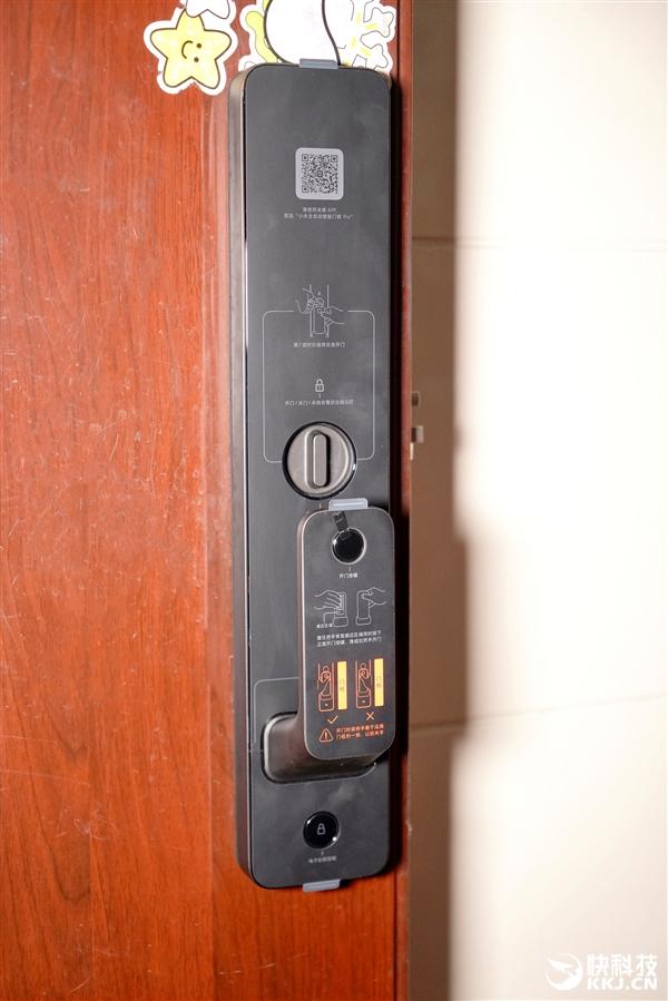 小米全自动智能门锁Pro图赏:门锁、门铃、摄像头三合一