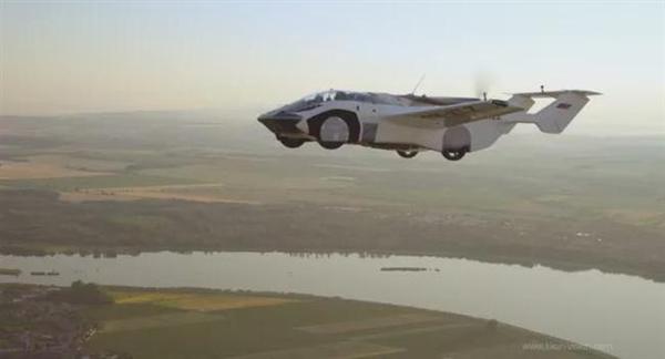 科幻变现实!飞行汽车首次跨城市飞行