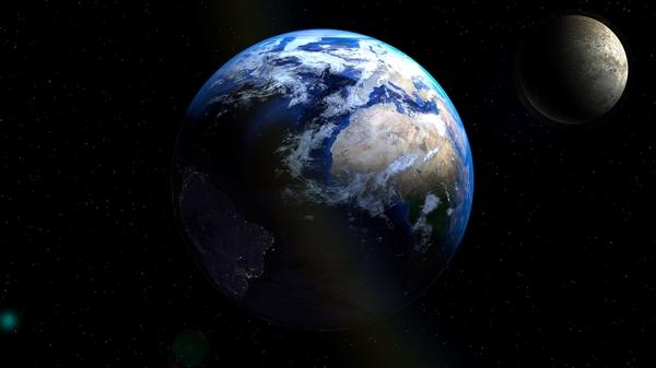 地球自转时速高达1670公里:为啥感觉不到?