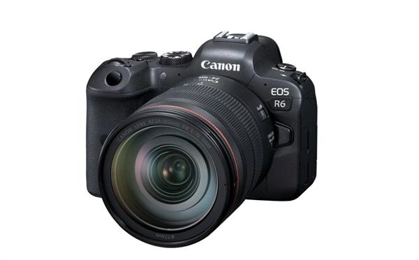 佳能发布EOS R6相机升级固件:新增双卡同时录视频