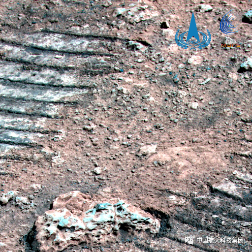 """""""祝融""""号火星车行驶超410米:拍了几张神奇的照片"""
