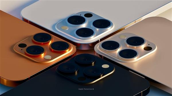 外观定型!iPhone 13 Pro超高清渲染图曝光:2款新配色亮眼