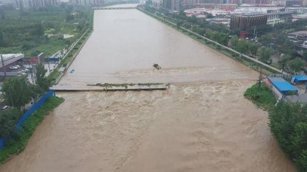 河北1地现1963年以来最大洪水:无一伤亡