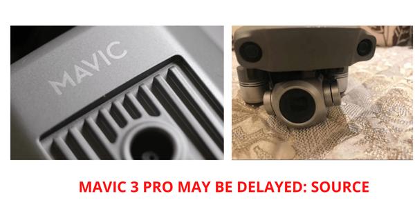 大疆御Mavic Pro 3无人机曝光:新外形、支持8K录制