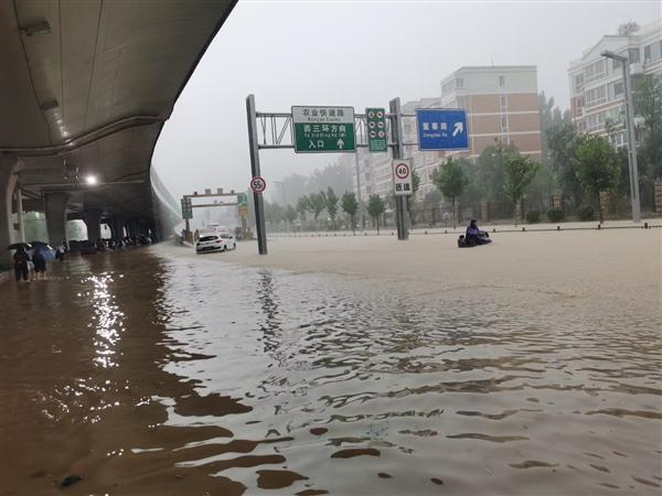 郑州特大暴雨千年一遇!一小时201.9mm、60年来新纪录