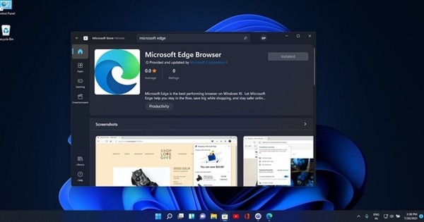 Edge浏览器将上架!Win11软件商店要这样改