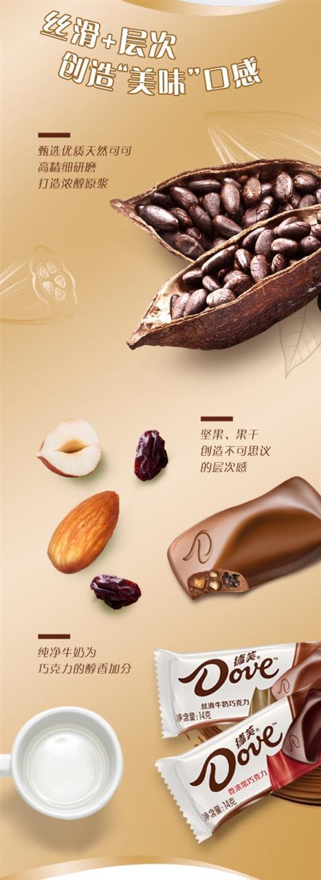 纵享丝滑 德芙5口味巧克力252g×3碗59.7元新低-冯金伟博客园
