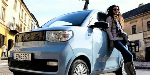 五菱宏光MINI EV 即将登陆西班牙!价格翻倍