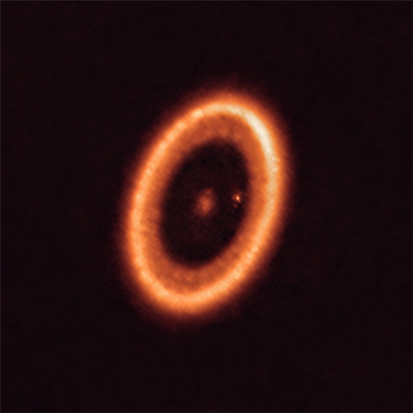 天文学家首次观测到系外卫星的诞生