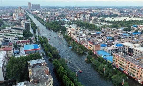 河南10个市县5天降了一年的雨:不少市县日降雨量突破历史极值