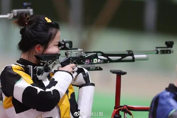 靶心只有0.5毫米!杨倩奥运夺首金的10米气步枪有多难?