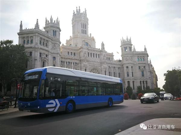 三度折冠!比亚迪再赢西班牙20台纯电动巴士订单