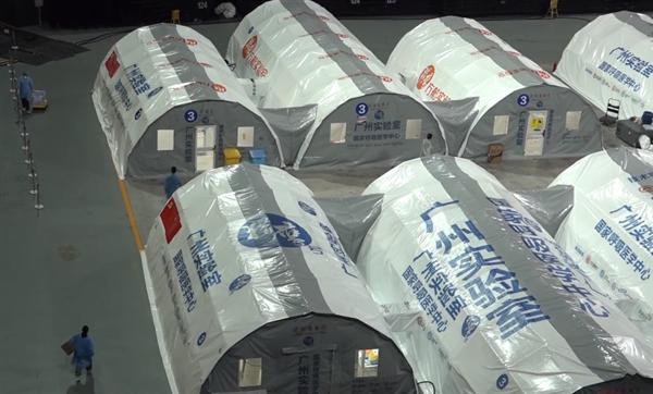 日检18万管样本!猎鹰号气膜实验室在南京投入使用