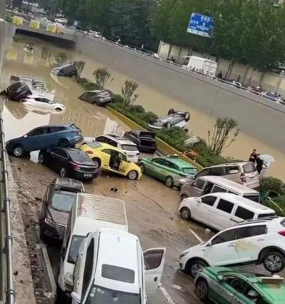 车险行业面临终极考验!河南特大水灾 超40万辆车水淹受灾
