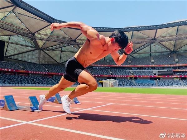 苏炳添进百米决赛成中国历史首人:9秒83破亚洲纪录