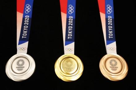 东京奥运金牌重一斤多 成本约5000元人民币