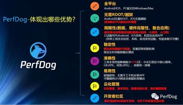 腾讯移动平台性能测试工具PerfDog升级:9月1日后开始收费