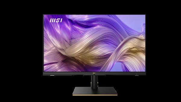 微星发布四款新品显示器:标配USB-C万能接口、4K型号堪称后期神器
