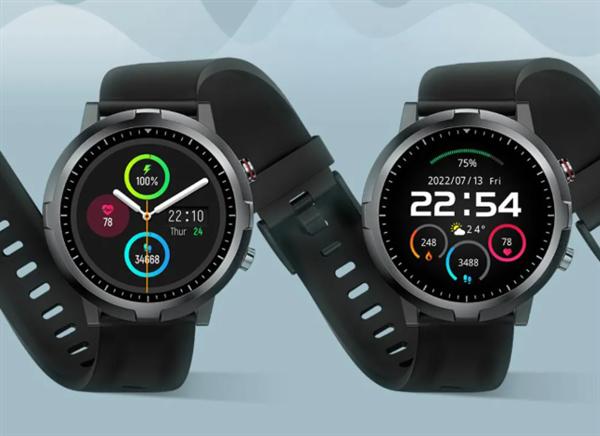 小米有品Haylou RT智能手表大促:IP68带NFC 只要199元