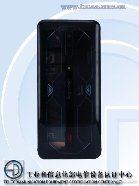 升级安卓最强芯!红魔6s Pro外观曝光:透明后壳+RGB风扇