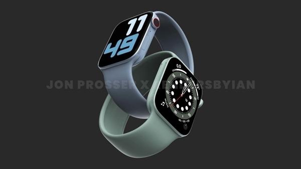 窄边全面屏首次大改 消息称Apple Watch S7没有延期