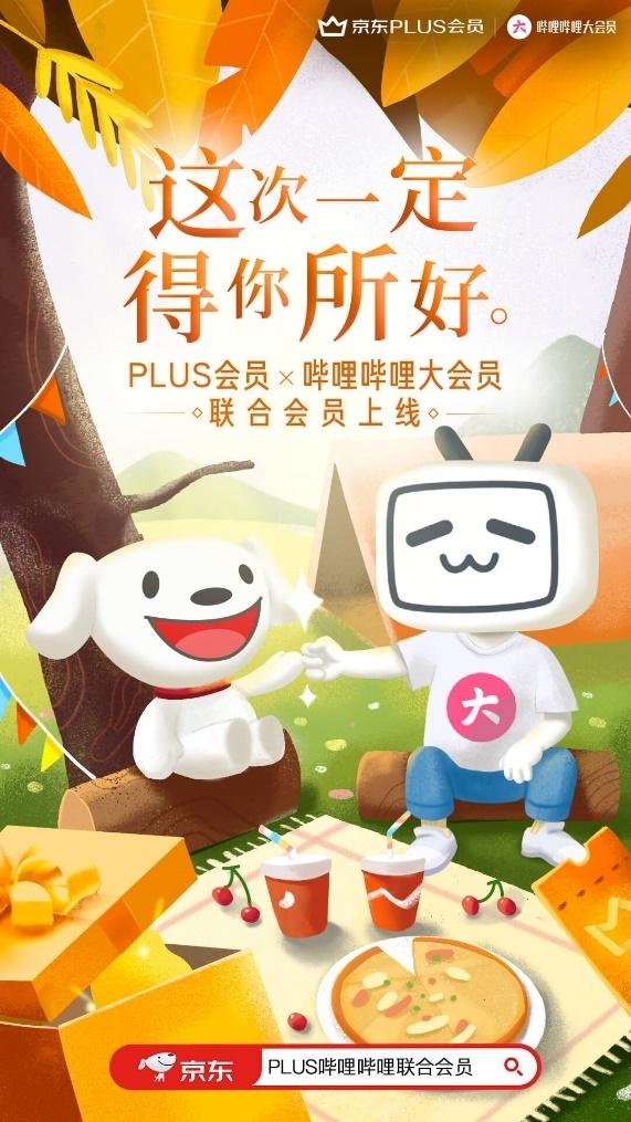 京东Plus、B站联合会员卡发布:权益互通、最低到手153元