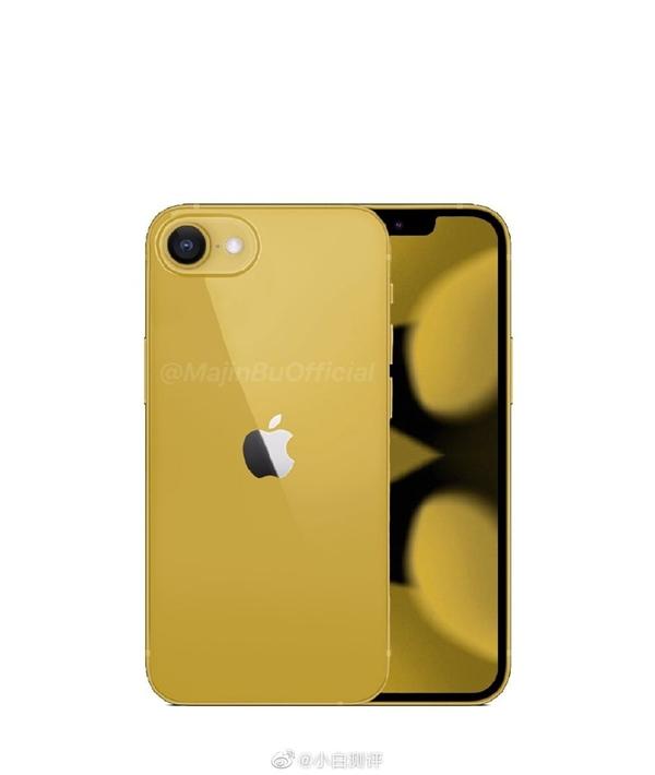 最强小屏机?iPhone SE3概念图曝光:刘海全面屏、后置单摄