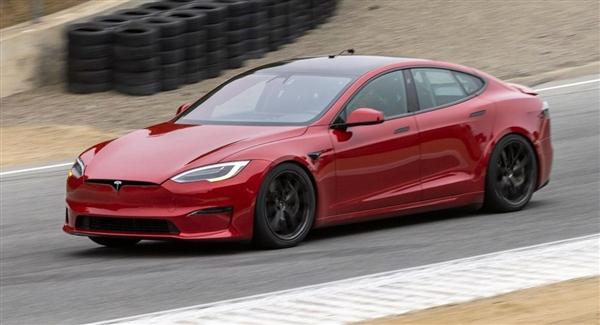 马斯克晒特斯拉速度:Model S Plaid创下量产电动汽车速度记录