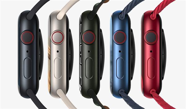 苹果发布Apple Watch 7系列智能手表:7年来首次大改、18小时续航-冯金伟博客园