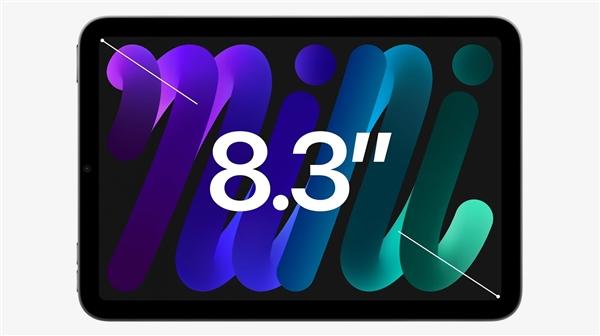 全变了!第六代iPad mini发布:8.3寸史上最小、A15处理器-冯金伟博客园