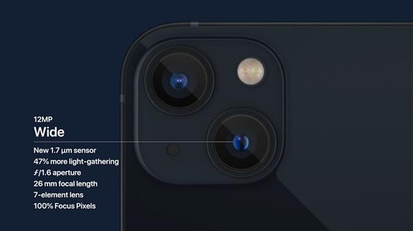 苹果发布iPhone 13 mini、iPhone 13手机:良心128GB起步 最强1200万双摄