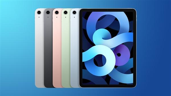iPad 9/mini 6发布后 iPad Air 4成苹果现售最尴尬平板:唯一700万前摄