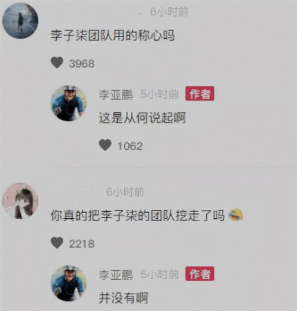 网友热议田园视频风格相似 李亚鹏否认挖走李子柒团队
