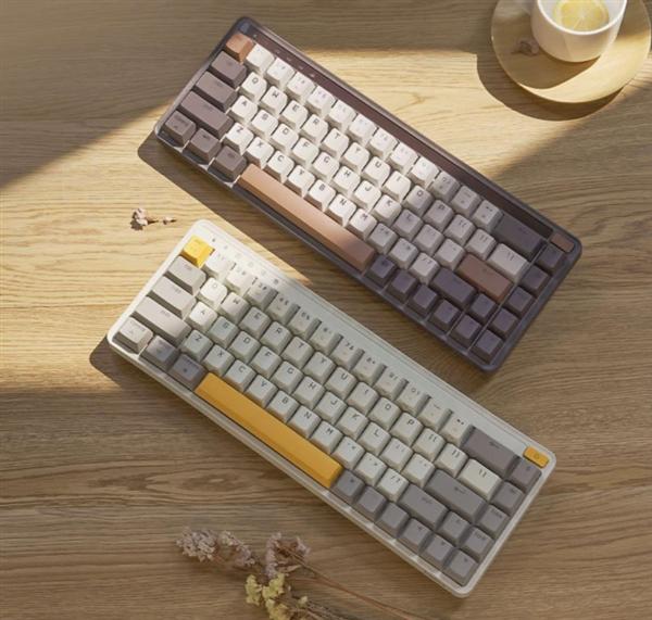 小米有品众筹年轻人第一把客制化键盘:68键布局 全键热插拔
