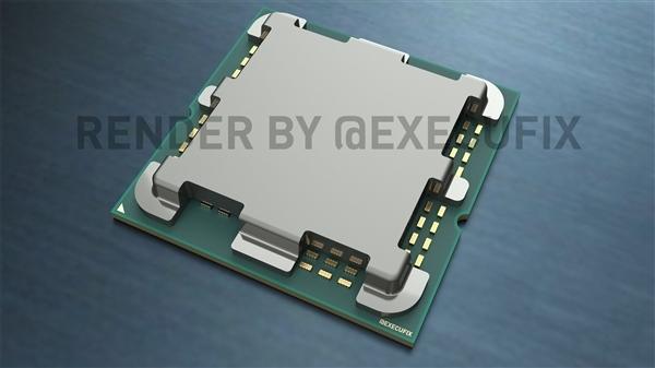 AMD Zen4散热器首次曝光:暴力400W
