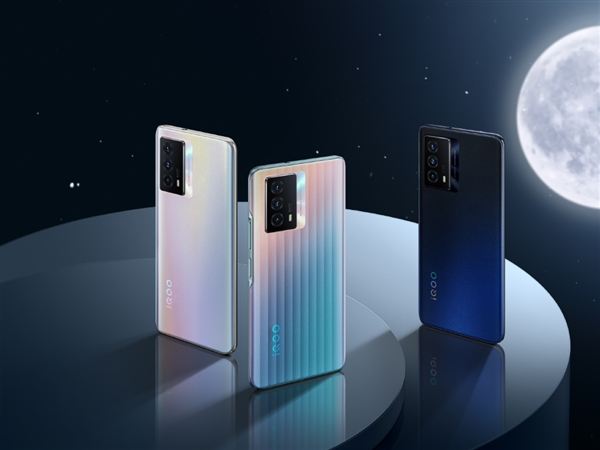 iQOO Z5正式亮相:三种配色 颜值超高