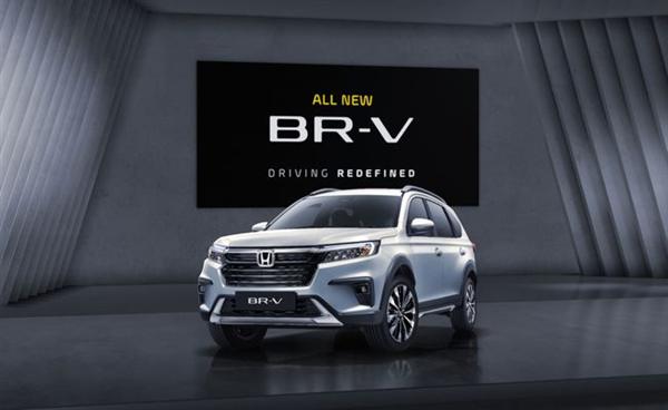 比CR-V还便宜的7座SUV!全新本田BR-V发布 约10.8万起
