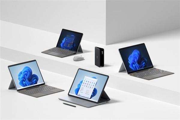 微软:Surface Pro 8/Go 3/Pro X新品即将在中国市场推出