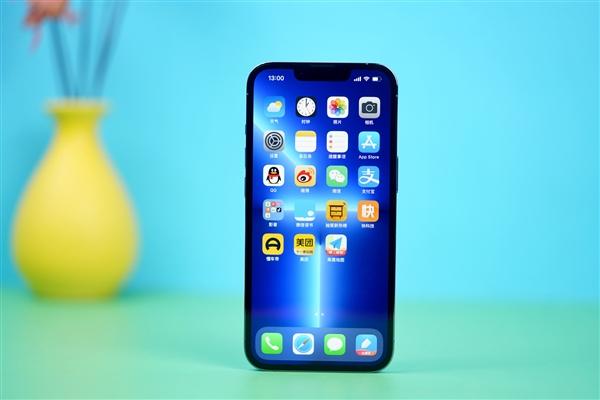 120Hz高刷终于来了!iPhone 13 Pro远峰蓝512GB开箱图赏