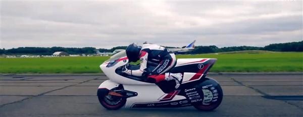 英国公司推出全球最快电动摩托车:打破特斯拉纪录