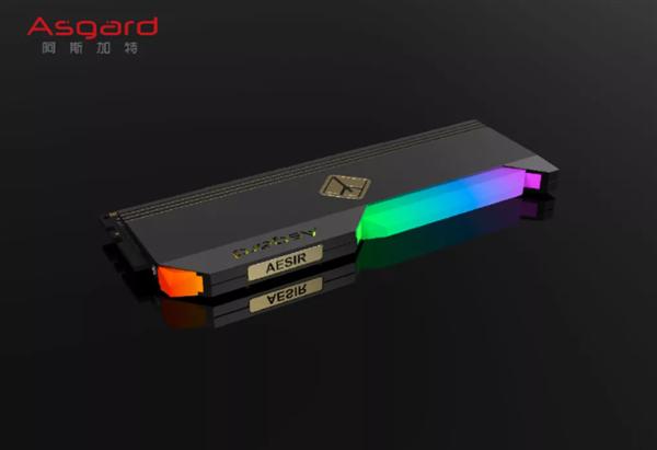 首款DDR5 RGB游戏内存条 阿斯加特Aesir系列将于10月发售