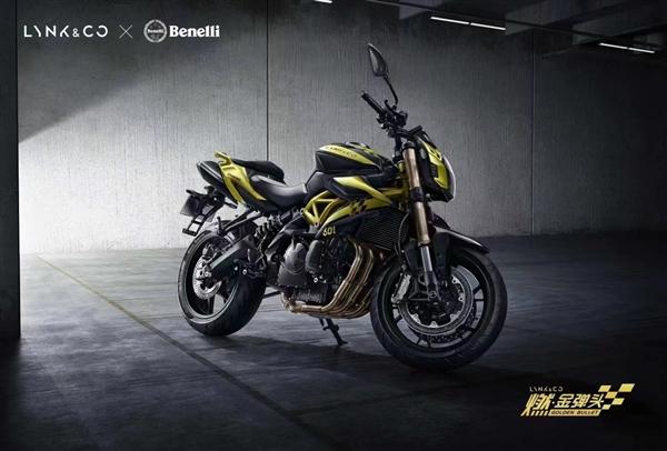 领克首款摩托车发售 联名贝纳利!极速210km/h 4.8万起